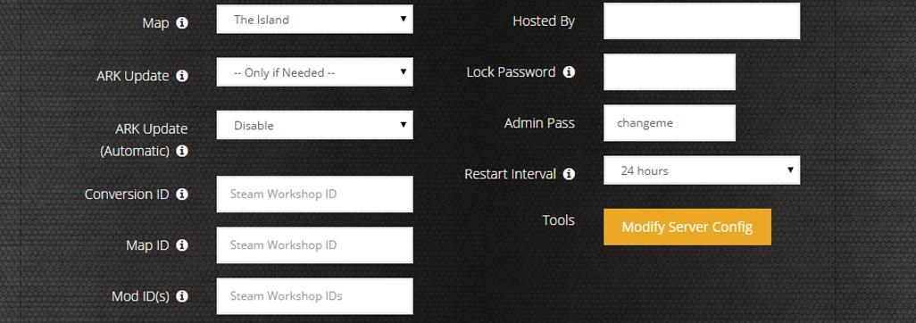 Ark dedicated server hosting ps4