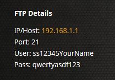 FTP Access - Survival Servers