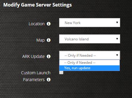 Atlas dedicated server not showing up c